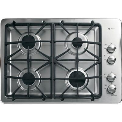 GE Profile PGP943SETSS  Gas Sealed Burner Style Cooktop, in Stainless Steel