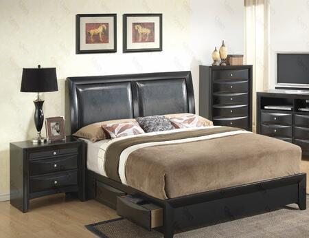 Glory Furniture G1500DDFSB2CHN G1500D Full Bedroom Sets