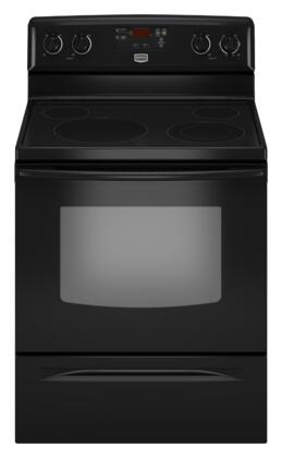 Maytag MER7662WB Electric Smoothtop 4 No Yes Freestanding Range |Appliances Connection