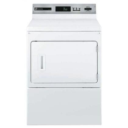 """Maytag Commercial MDG17PRAWW 27"""" Gas  Gas Dryer 