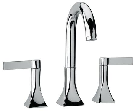 Jewel Faucets 17102XX Two Blade Handle Roman Tub Faucet With Goose Neck Spout
