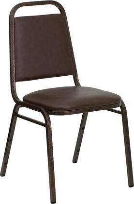 Flash Furniture FDBHF2BNGG Hercules Series Contemporary Vinyl Metal Frame Dining Room Chair