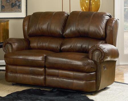 Lane Furniture 20329413917 Hancock Series Fabric Reclining with Wood Frame Loveseat
