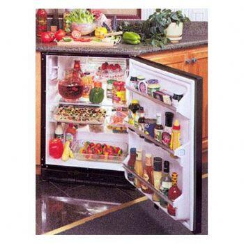 Marvel 61ARMBBOL  Compact Refrigerator with 5.93 cu. ft. Capacity in Black Cabinet, Requires Custom Panel/Handle