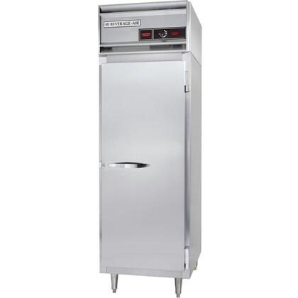 PH1-1S One Section Solid Door [Reach-In/Pass-Through] Heated Holding Cabinet with Balanced Fan System, Manually Controlled Humidity Vents, and 1500W Heating Element