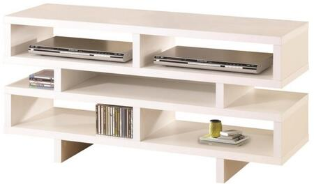 """Coaster TV Stands 47.25"""" TV Console with Crisp Geometric Design and Open Storage"""