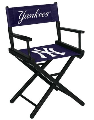 Imperial International 201-20 MLB Themed Table Height Director's Chair with Black Stained Hardwood