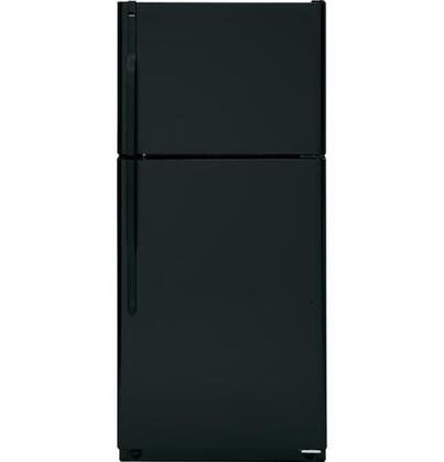 Hotpoint HTH17CBTBB  Refrigerator with 16.6 cu. ft. Capacity in Black