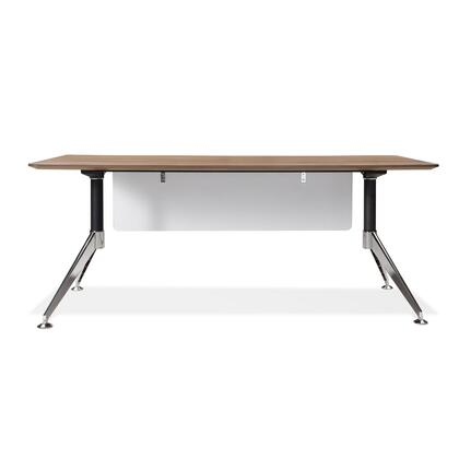 Unique Furniture 302WAL Modern Standard Office Desk