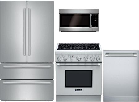 Thermador 740556 PRO Harmony Kitchen Appliance Packages