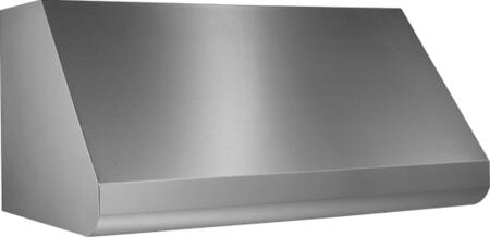 Broan Elite E60000 E60E Wall-Mount Canopy Range Hood with 280 - 1500 CFM External Blower Options, Variable Speed Control, and Baffle Filters in Stainless Steel (Blowers Sold Separately)
