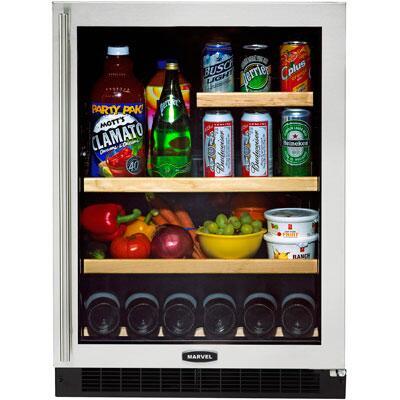 Marvel 6GARMBDL  Luxury Series All Refrigerator Compact Beverage Center