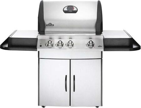 Napoleon M485RBNSS1 All Refrigerator Natural Gas Grill