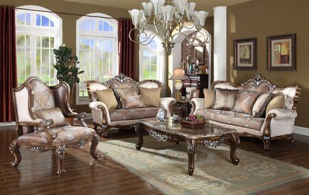 Meridian 6033PCSTLARMKIT1 Sandro Living Room Sets