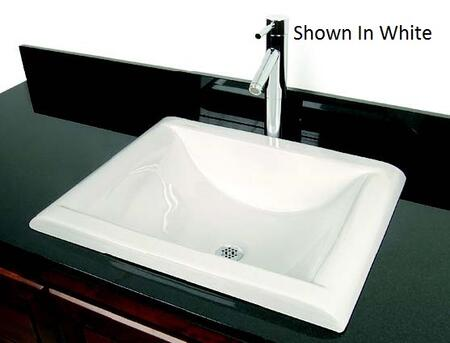 D'Vontz DVLC5540WH Bath Sink