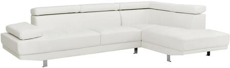 Glory Furniture G449SC Milan Series Stationary Faux Leather Sofa
