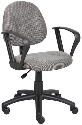"Boss B317GY 25"" Adjustable Contemporary Office Chair"
