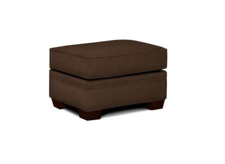 "Broyhill Zachary Collection 7902-5QX 28"" Ottoman with Fabric Upholstery, Piped Stitching and Casual Style in"