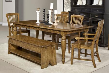 Broyhill 4808DT2AC2SCB New Vintage Dining Room Sets
