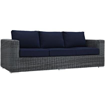 Modway EEI1874GRYNAV Modern Patio Sofa