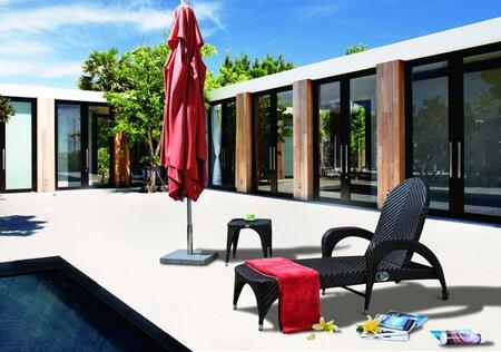 "VIG Furniture VGCW2063 77"" Lounge Chair"