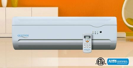 Quietside QSHX122 Mini Split Air Conditioner Cooling Area,