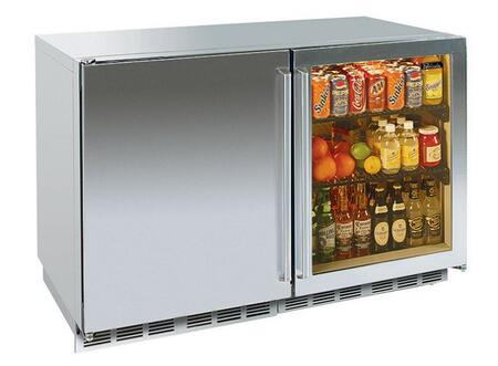 Perlick HP48FRS1L3RDNU Signature Series Counter Depth Side by Side Refrigerator with 12.3 cu. ft. Capacity