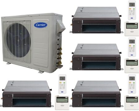 Carrier 701224 Performance Quad-Zone Mini Split Air Conditio