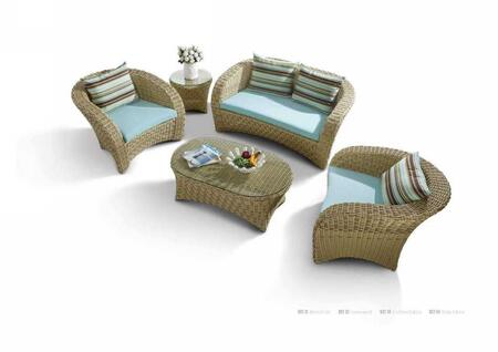 VIG Furniture VGHTDH32 Modern Patio Sets