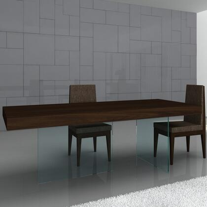 JandM Furniture Float Modern Dining Table 17699 T