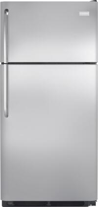 Frigidaire NFTR18X4PS Freestanding Top Freezer Refrigerator with 18.2 cu. ft. Total Capacity 2 Glass Shelves 4.07 cu. ft. Freezer Capacity