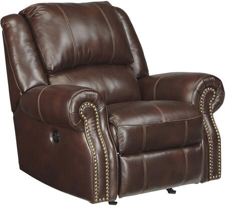 Signature Design by Ashley U7210098 Collinsville Series Contemporary Leather Metal Frame Rocking Recliners