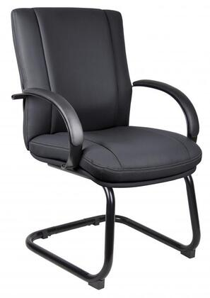 "Boss AELE40BK 25"" Contemporary Office Chair"