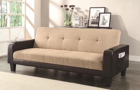 Coaster 300295 Sofa Beds Series Loveseat Sleeper Microfiber Sofa