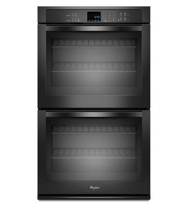 "Whirlpool WOD51EC7AB 27"" Double Wall Oven, in Black"