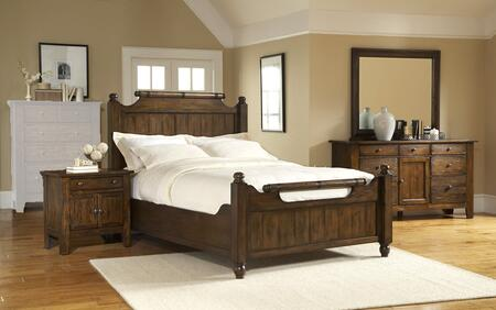 Broyhill 4399CKFBNDM Attic Heirlooms California King Bedroom