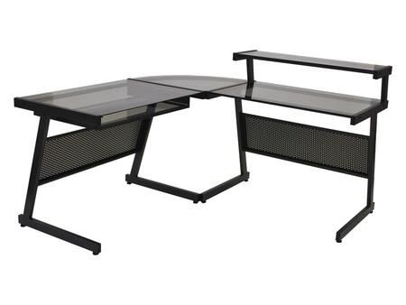 Euro Style 27650A27651G Landon Series  Desk