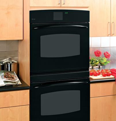 GE PT960DRBB Double Wall Oven, in Black